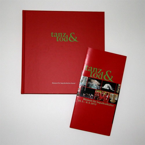 tanz&tod - faltblatt + katalog