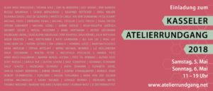 Einladung zum Kasseler Atelierrundgang 2018